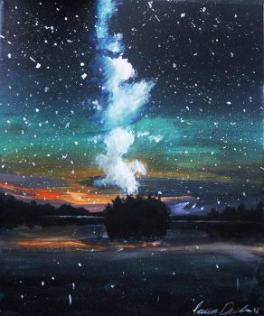 A sky full of stars by ImLauraa