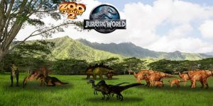 ZT2 Jurassic World Banner 2 by GorgonGorgosaurus