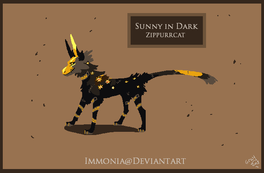 Zippurrcat: Sunny in Dark [CLOSED] by Immonia