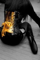 Golden Ribbons by VictoriaBlack4