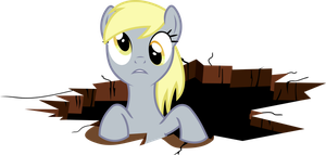 Derpy in a hole by uxyd