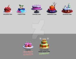 Cakes Collection by heavenly-roads