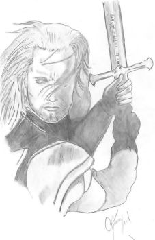 Aragorn by Gugaleal