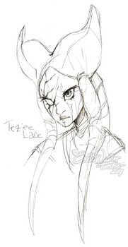 Tez'ee Lace (Lines) by ToastyToastie