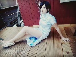 Ada Wong Cosplay / Resident Evil 6 chinese dress by TMPwong