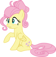 Fluttershy's new mane style by Gebros