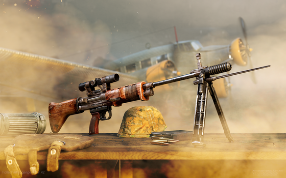 paratrooper rifle 42 by ABiator