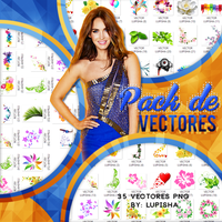 PACK DE VECTORES by LupishaGreyDesigns
