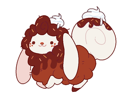 {SOLD!}Flufferbun Adoptable - Morning Mocha Donuts by blushbun