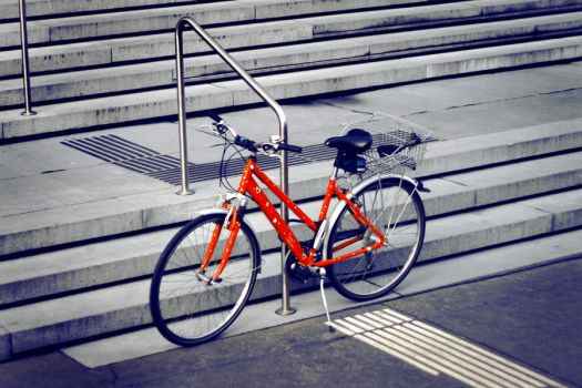 bicycles love Vienna by someonelovely