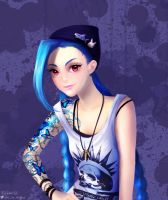 Jinx Is Strange by so-squiggly