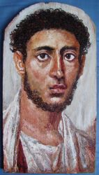 Fayum mummy portrait 7 by Lijah