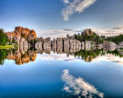 Sylvan Lake by dkwynia