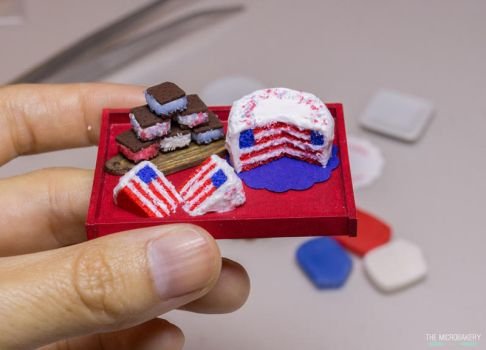 July 4th Treats by TheMicroBakery