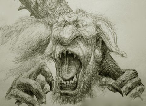 Troll design by RussellMarks