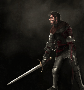 The Smiling Knight by Mike-Hallstein