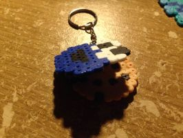 CookieMonster with cookie keychain by Echilon
