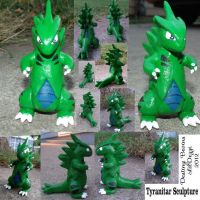 Tyranitar Sculpture 2