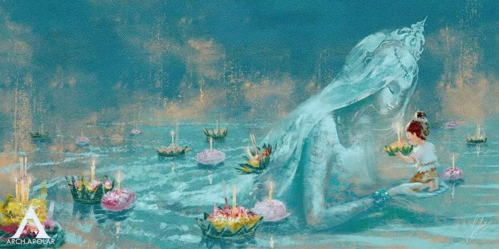 GODDESS OF WATER by Apolar