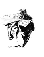 Lineart: Krypton's Old Boy by HendryRoesly