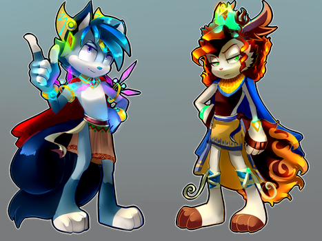 || Sonic Fan Characters|| by AniLLem