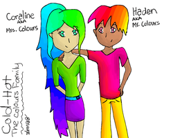 Cold-Hot: The Colours Family by slim58