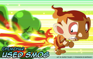 Chimchar used SMOG