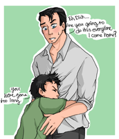 request-Bruce and Dick by Gandalfia