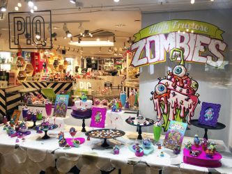High Fructose Zombies Display at P!Q GCT NYC by spulunk