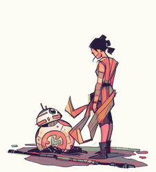 Rey-a-Day 65 by michaelfirman