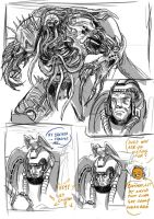 Possessed Chaplain Strip by tyrantwache