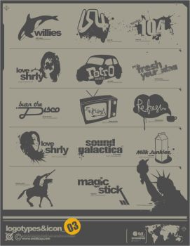 logo and icon stock 3 by oxidizzy