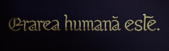 Errare humanum est by Anotheroutsider