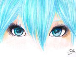 Her eyes... by Tometou-P9