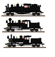 Geared steam locomotives by Andrewk4