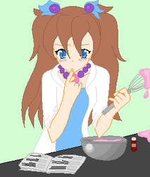 Cooking Michi by VeronicaPrower