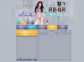 Design for adrianalima-hq.blog.cz by FlowerskaHoneyLand
