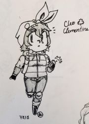 Cleo Clementine-Chibi by LarryDaCat