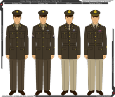WWII U.S. Army Class A Uniform by Grand-Lobster-King