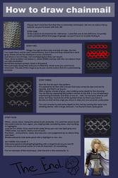 How to draw chainmail by Shin-ai