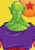 Piccolo DBZ by GHussain