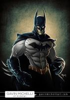 The Dark Knight by GavinMichelli