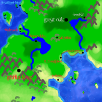 Map of Mithrol by KSchnee