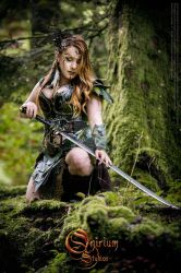 Photoshoot 2016 - Calimacil partnership - elves by Deakath