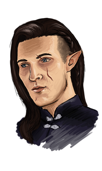 Inquisitor Lopt Lavellan by MoriartaDragonheart