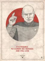 Star Trek Captains - Jean Luc Picard by RUGIDOart
