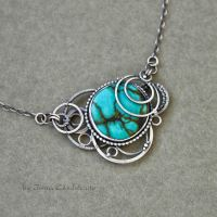 Turquoise Pendant by taniri
