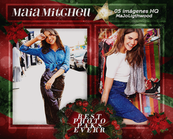 Photopack 6170 - Maia Mitchell. by southsidepngs