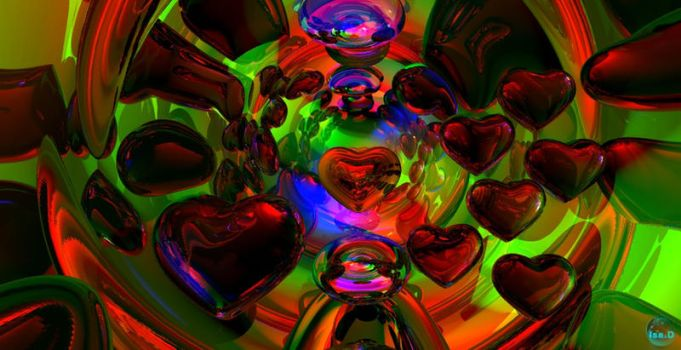 Gloria's Hearts... by isider