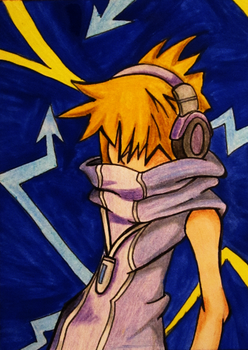 30-Day-Challenge #27: World Ends With You by QuecksilberRose